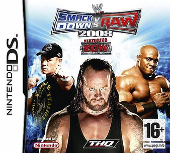 Nintendo DS - Smackdown vs Raw 2008