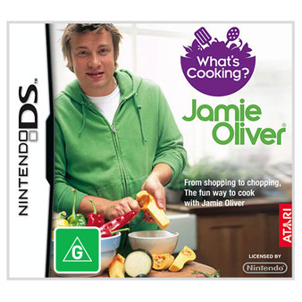 Nintendo DS - What's Cooking? Jamie Oliver
