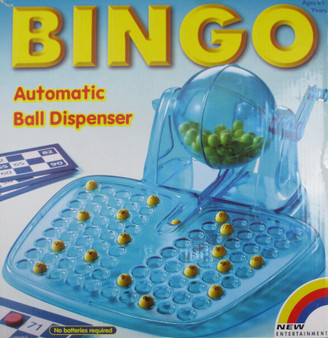 Bingo with Automatic Ball Dispenser