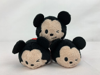 """Disney """"Tsum Tsum"""" Mickey Mouse Stackable Plush Toy"""