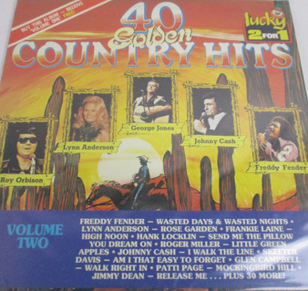 40 Golden Country Hits Volume 2 - Various