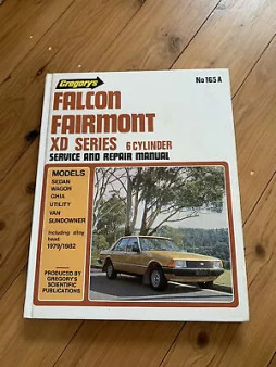 Gregory's Falcon Fairmont XD Series: 6 Cylinder Service and Repair Manual (Hardcover)