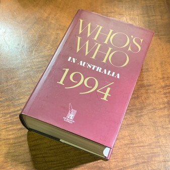 Who's Who In Australia 1994 (Hard Cover)