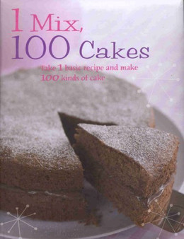 1 Mix 100 Cakes  Christine France   food love ( Hard Cover)