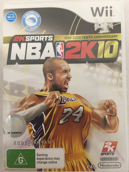 NBA 2K10  -2K Sports 1999-2009 Tenth Anniversary-Wii