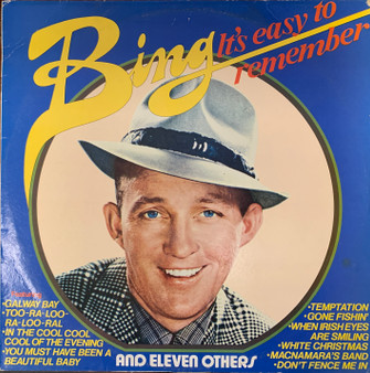 It's Easy to Remember - Bing Crosby