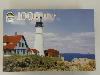 """The Golden Series"" USA Lighthouse Puzzle"