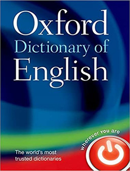 Oxford Dictionary Of English (Hard Cover)