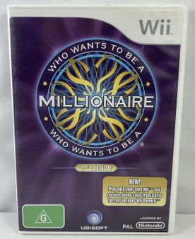Who Wants to Be  A Millionaire - Wii
