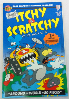 Itchy & Scratchy Comics: Around the World in 80 Pieces - Groening