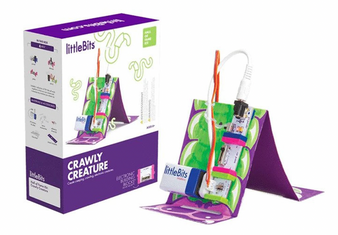 littleBits Crawling Creature Hall of Fame Starter Kit