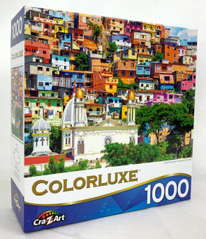 Colorluxe Colorful Houses 1000 Jigsaw Pieces
