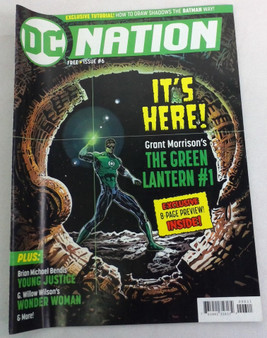 It's Here! Grant Morrison's The Green Lantern #1
