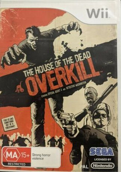 The House Of The Dead Overkill-Wii