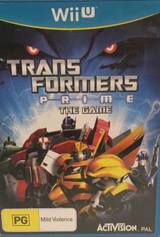 Transformers Prime The Game - Wii