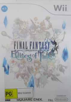 Final Fantasy Crystal Chronicles Echoes of Time- Wii