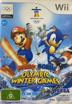 Mario & Sonic At The Olympic Winter Games Vancouver 2010 -Wii