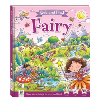 Seek And Find : Fairy (Hard Cover)