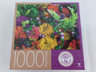 1000 piece Summer Flowers puzzle