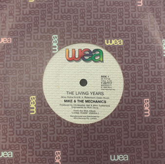 45 RPM The Living Years - Mike & The Mechanics