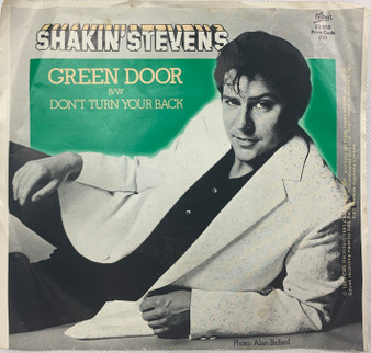 45 RPM Green Door - Shakin's Stevens