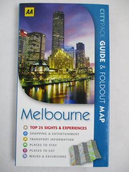 Citypack Guide & Foldout Map: Melbourne