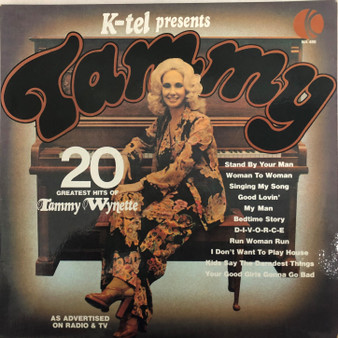 Tammy: 20 Greatest Hits of Tammy Wynette