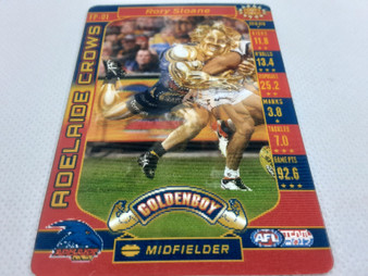 AFL Teamach 2017 Footy Powers Golden Boy Card - Rory Sloane, FP-01