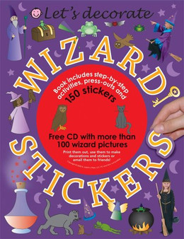Let's Decorate: wizard Stickers