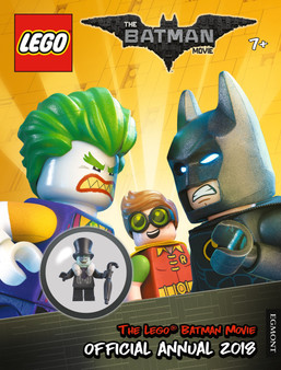 The Lego: The batman Movie Official Annual 2018 (Hard Cover)