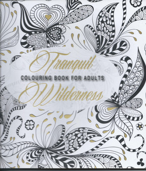 Tranquil Wilderness, Colouring Book For Adults