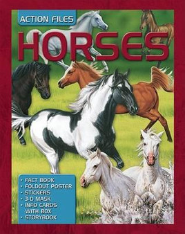 Action Files: Horses (Hardcover)