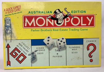 Monopoly Australian Edition Parker Brothers Real Estate Trading Game