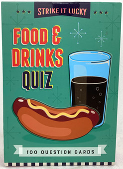 Food & Drinks Quiz 100 Question Cards Game