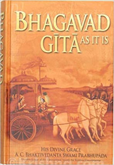 Bhagavad Gita As It Is - His Divine Grace A.C.Bhaktivedanta Swami Prabhupada(Hard Cover)