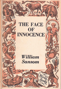 The Face of Innocence - William Sansom (Hardcover)