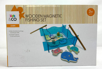 Wooden Magnetic Fishing Set