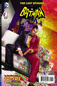 Batman '66: The Lost Episode The Two-Way Crimes of Two-Face - Harlan Ellison