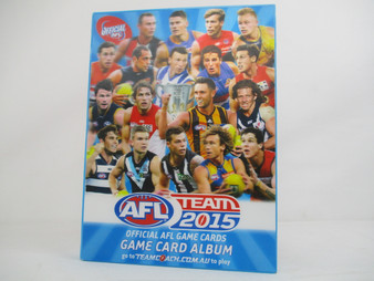 AFL Teamcoach 2015 Footy Trading Cards with Album