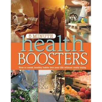 5 Minute Health Boosters - Liz Connolly (Hardcover)