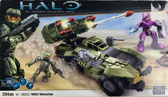 Mega Blocks Halo UNSC Wolverine Collector's Series 294 Pcs Set 15 No. 96833 NIB