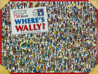Vintage Where's Wally? 750 Piece Puzzle