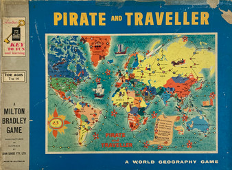 Pirate and Traveller: A World Geography Game