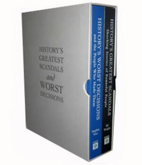 History's Greatest Scandals and Worst Decisions Limited Edition Boxed Set - Stephen Weir