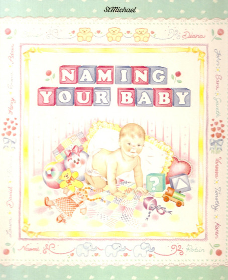 Naming Your Baby - Joyce Robins (Hard Cover)
