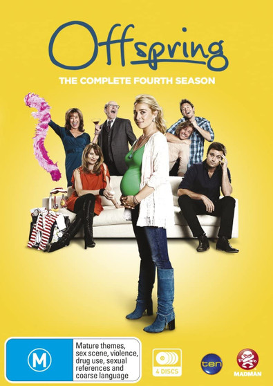 Offspring The Complete Fourth Season DVD