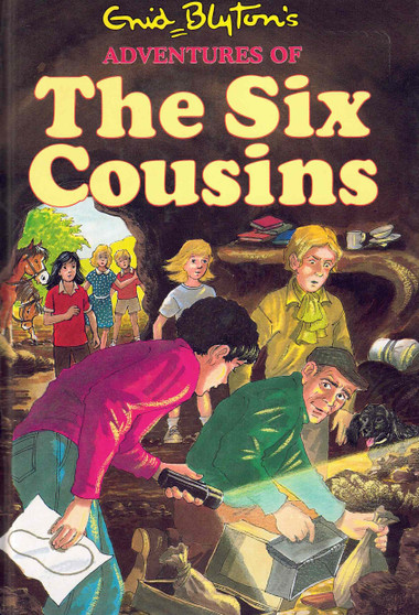 Adventures of The Six Cousins - Enid Blyton (Hardcover)
