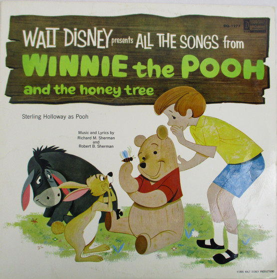 All the Song From Winnie The Pooh and The Honey Tree -Walt Disney