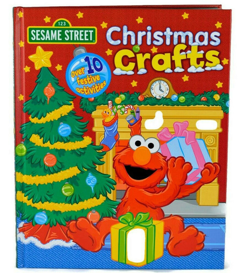 Sesame Street: Christmas Crafts (Hard Cover)
