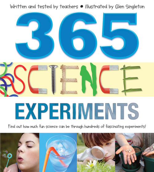 365 Science Experiments (Hard Cover)